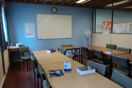 séjour en immersion totale salle de classe