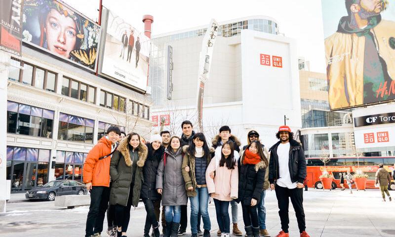 Voyage linguistique Toronto