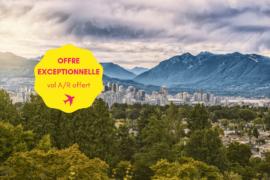 Séjour linguistique Année sabbatique 12 sem. Vancouver Canada