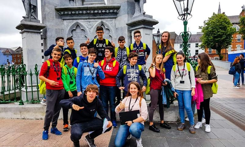 Immersion linguistique cork excursions