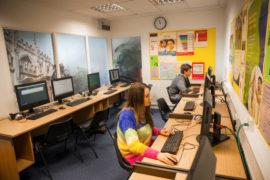 Centre de langue à Oxford équipement