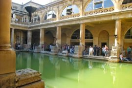 Séjour linguistique à Oxford excursion thermes de Bath