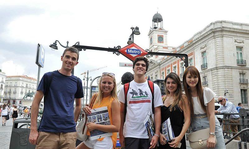 immersion linguistique jeune Madrid