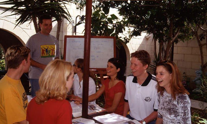voyage malte avec cours anglais