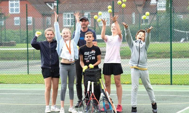 Anglais et tennis angleterre