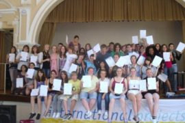 Remise certificat immersion jeune bournemouth