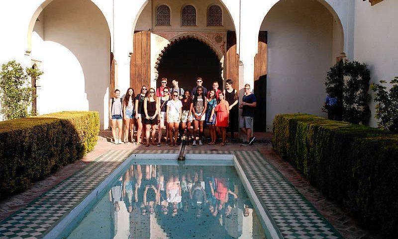 Voyage linguistique ado Malaga visite culturelle