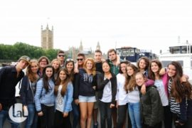 immersion linguistique Berkhamsted excursion a Londres