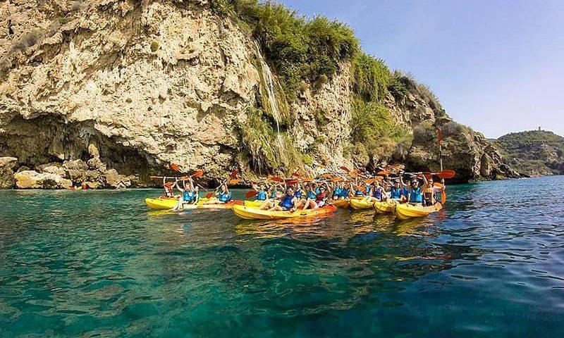 séjour en immersion Malaga activité kayak