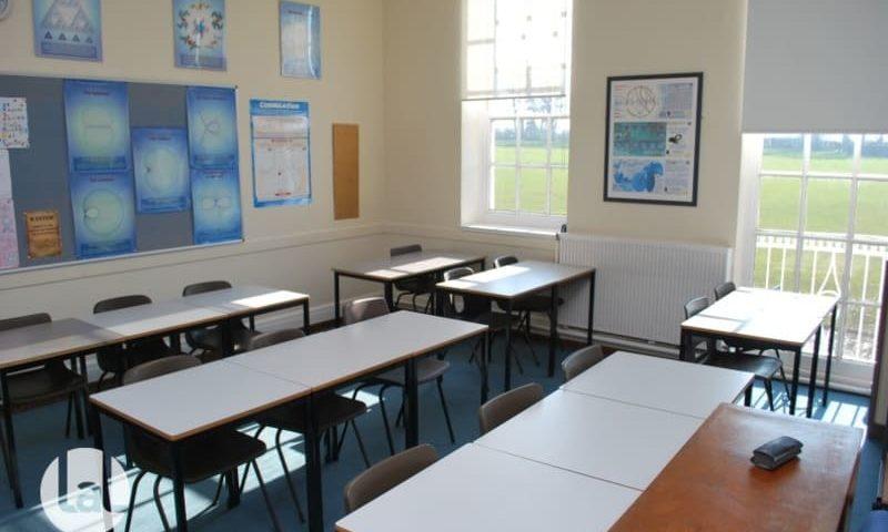 séjour linguistique Winchester salle de classe