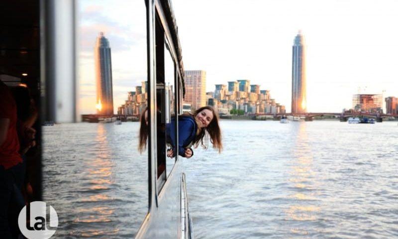 voyage linguistique junior excursion bateau