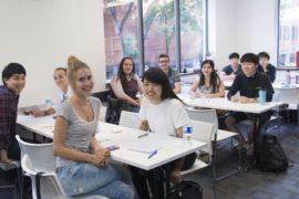 année sabbatique Toronto salle de classe