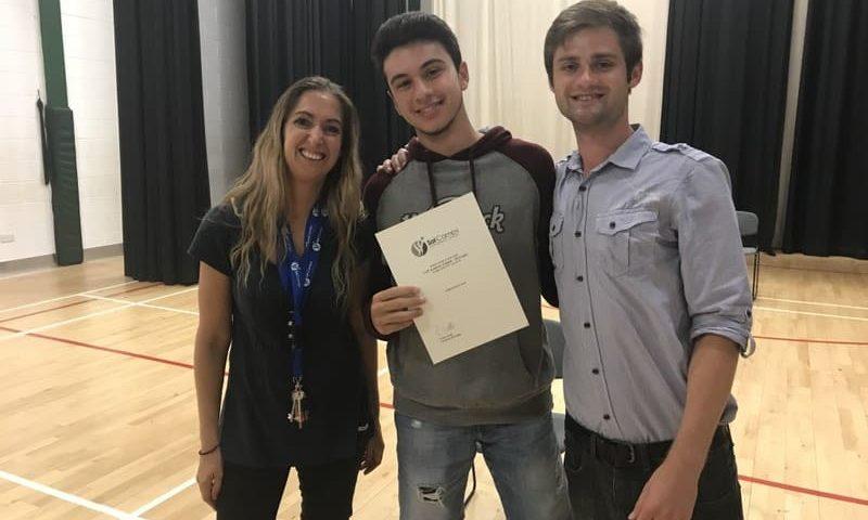 Séjour linguistique jeune certificat de participation