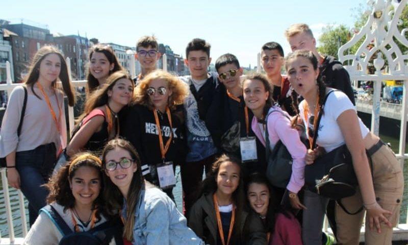 immersion linguistique junior dublin activités et excursions