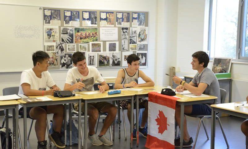 Séjour Toronto pour enfant cours anglais