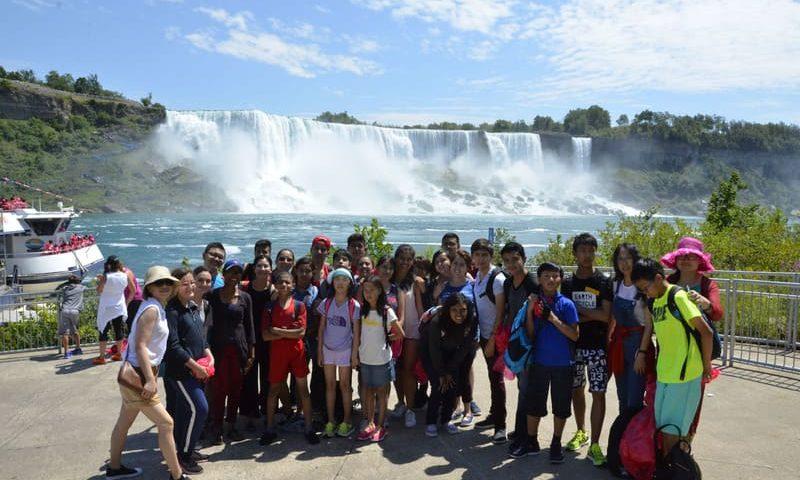 Séjour toronto excursion chutes du niagara immersion linguistique junior au canada