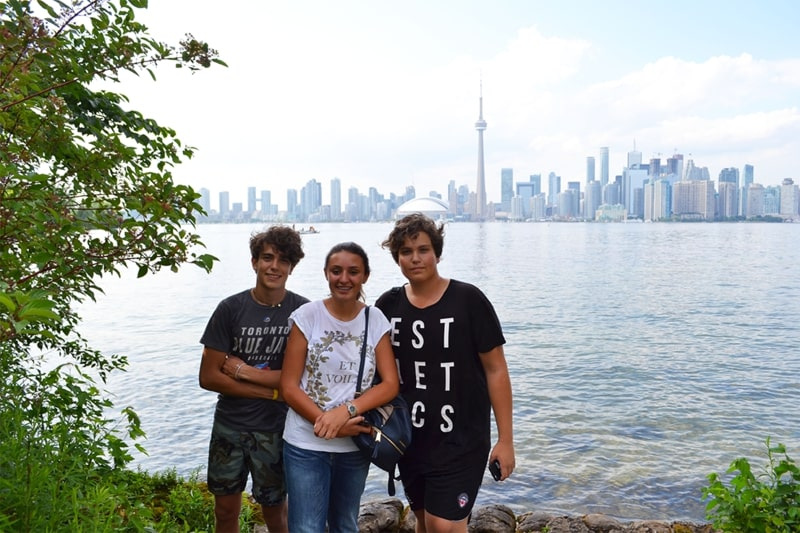 Immersion linguistique jeunes et ados Toronto