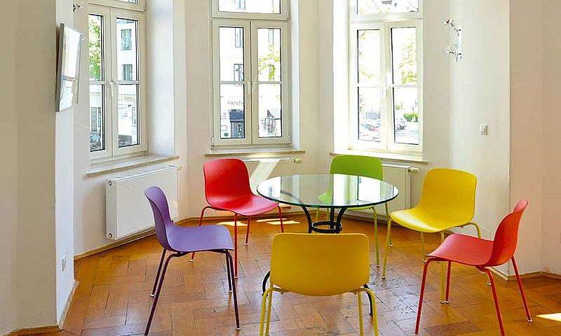 Salle de classe séjour linguistique allemand Munich